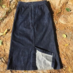 Australian Boutique MOOK's Denim Maxi Skirt Small